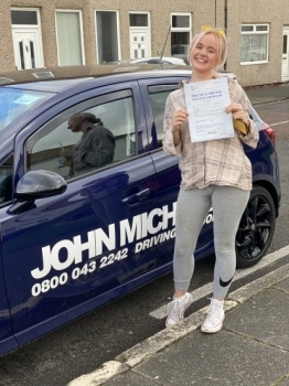 AMAZING driving from Lucy Brooks today! After all the stress of having to wait for 6 months due to lockdown she's just smashed 🥊🥊 her driving test!! Well done Lucy!...